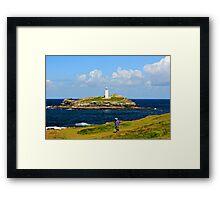 Godrevy Lighthouse Framed Print