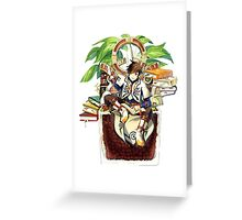 ToZ - Books Greeting Card
