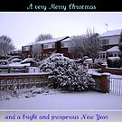 Virgin Snow Christmas and New Year Card by BlueMoonRose