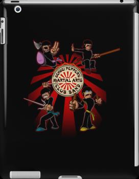 Sensei Pepper's Martial Arts Club Band (2012) by jayveezed
