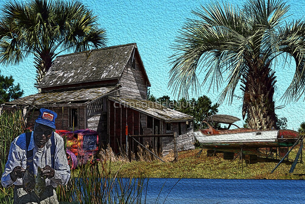 The Fisherman by Mike Pesseackey (crimsontideguy)