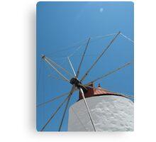 Greek Island Windmill 1 Canvas Print