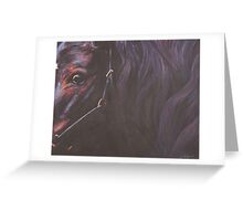 The Young Filly Greeting Card