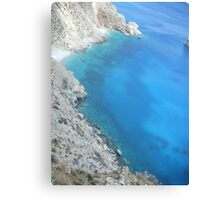 Amorgos Greek Island Spectacular View Canvas Print