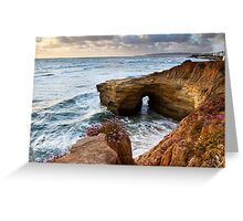 Sunset Cliffs San Diego Greeting Card