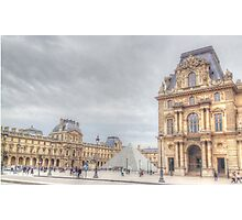 Loving The Louvre Photographic Print