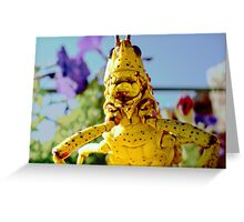 Does his Mom love him???? Greeting Card