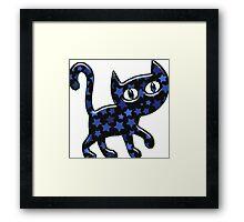 Travel Kitty Framed Print