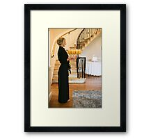 Time for the party to begin Framed Print