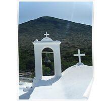Greek Island Church 7 Poster
