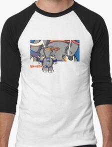 Dung Fu with Logo Men's Baseball ¾ T-Shirt