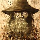Gandalf the Grey  by Jeanette  Treacy