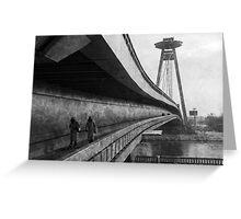 Novi Most, Bratislava Greeting Card
