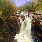 Lower Falls, Glen Nevis by Steve
