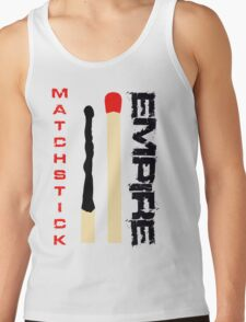 Matchstick Empire - Red and Black Tank Top