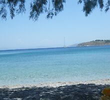 Greek Island Beach Patmos by SlavicaB