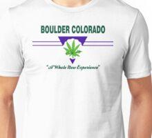 Marijuana Boulder Colorado Unisex T-Shirt