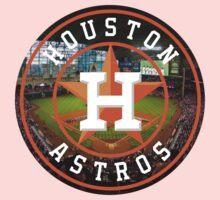 Houston Astros Stadium Logo Kids Clothes