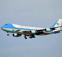 Air Force One by Eleu Tabares