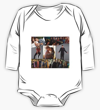 Castle Collage One Piece - Long Sleeve