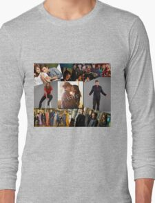Castle Collage Long Sleeve T-Shirt