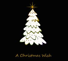 A Christmas Wish iphone case - Black by Vanessa Barklay