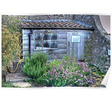 Gertrude Jekyll's Potting Shed Poster