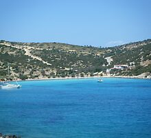 Lipsi Island Greece - Beach 1 by SlavicaB