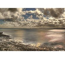Lindisfarne Castle View Photographic Print