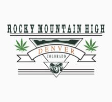 Marijuana Denver Colorado by MarijuanaTshirt