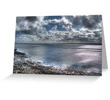 Lindisfarne Castle View Greeting Card