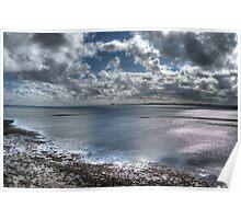 Lindisfarne Castle View Poster