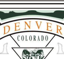 "Marijuana Denver ""Mile High Club"" Sticker"