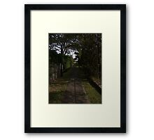 West Chermside Laneway Framed Print