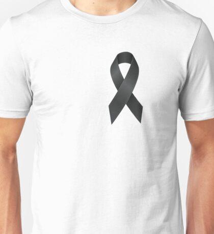 Black Ribbon Unisex T-Shirt