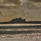 Bamburgh Castle by Colin Metcalf