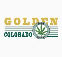 Marijuana Golden Colorado by MarijuanaTshirt