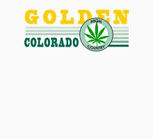 Marijuana Golden Colorado Unisex T-Shirt