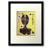 Every day, in every way 2 Framed Print