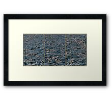 Good Morning Sea Framed Print