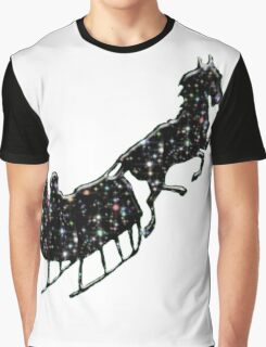 Starry Sled Graphic T-Shirt