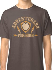Adventurers For Hire Classic T-Shirt