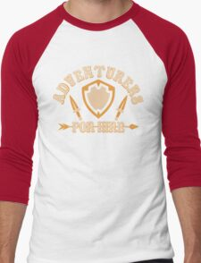 Adventurers For Hire Men's Baseball ¾ T-Shirt