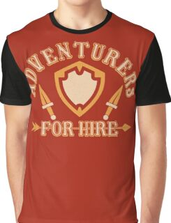 Adventurers For Hire Graphic T-Shirt