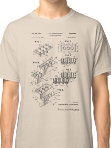Toy Building Brick Patent  Classic T-Shirt