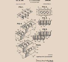 Toy Building Brick Patent  T-Shirt