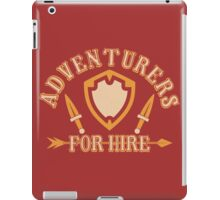 Adventurers For Hire iPad Case/Skin