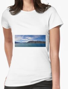 New Zealand Landscape Womens Fitted T-Shirt