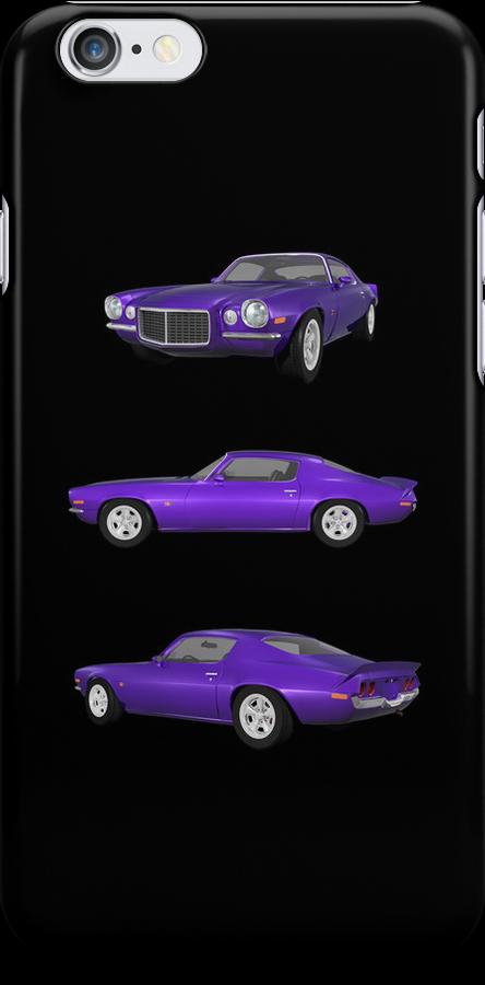 Purple 1972 Camaro  by bradyarnold
