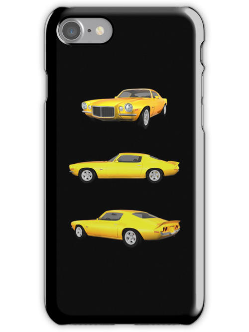 Yellow 1972 Camaro  by bradyarnold